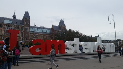 Museumplein's classic sign. A must for any true tourist