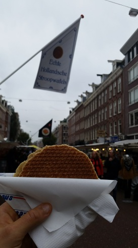 City Specialties. This stroopwafel might be the tastiest $2 I've ever spent. Enjoyed while wandering the Albert Cuyp market