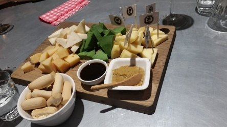 $12 for a cheese tasting and 2 glasses of wine? Can't say no to that. Henri Willig Cheese & More