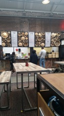 The dim sum shop in Foodhallen (renovated warehouse with hip food spots)