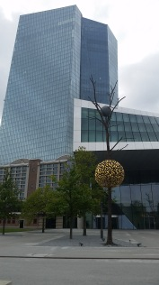 ECB Headquarters: The center of monetary policy for the 19 nations in the euro area
