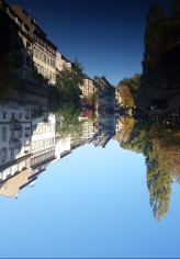 Is this canal pic upside down? The world will never know
