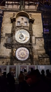 Astronomical Clock: Cool, The hourly show: Not so much