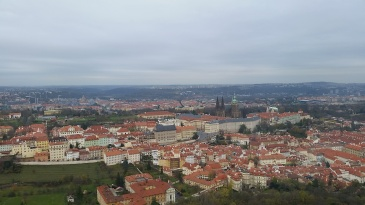 The view from Prague's observatory (just stairs)