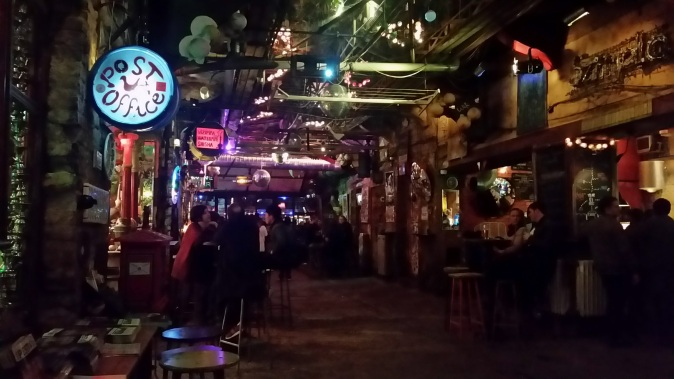 Szimpla Kert, one of the city's incredible ruin pubs