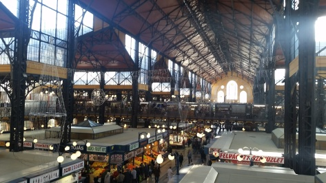 Central Market Hall, one of Budapest's many food markets