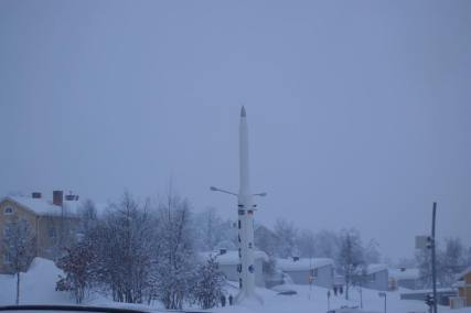 Fun Fact: Kiruna's Esrange is a major rocket and baloon launching center